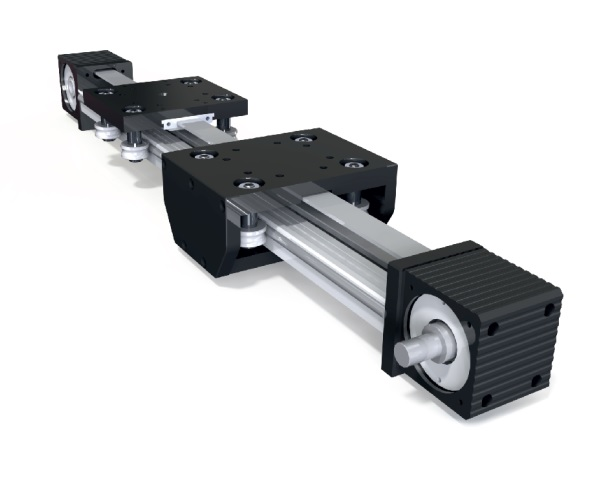 Linear Motion System : Linear motion systems block timing belt module mm