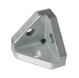 3 way corner connectors for aluminium profile: Elega