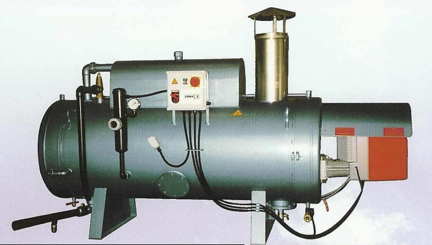 Low pressure steam generators used in food, feed industry: Elega