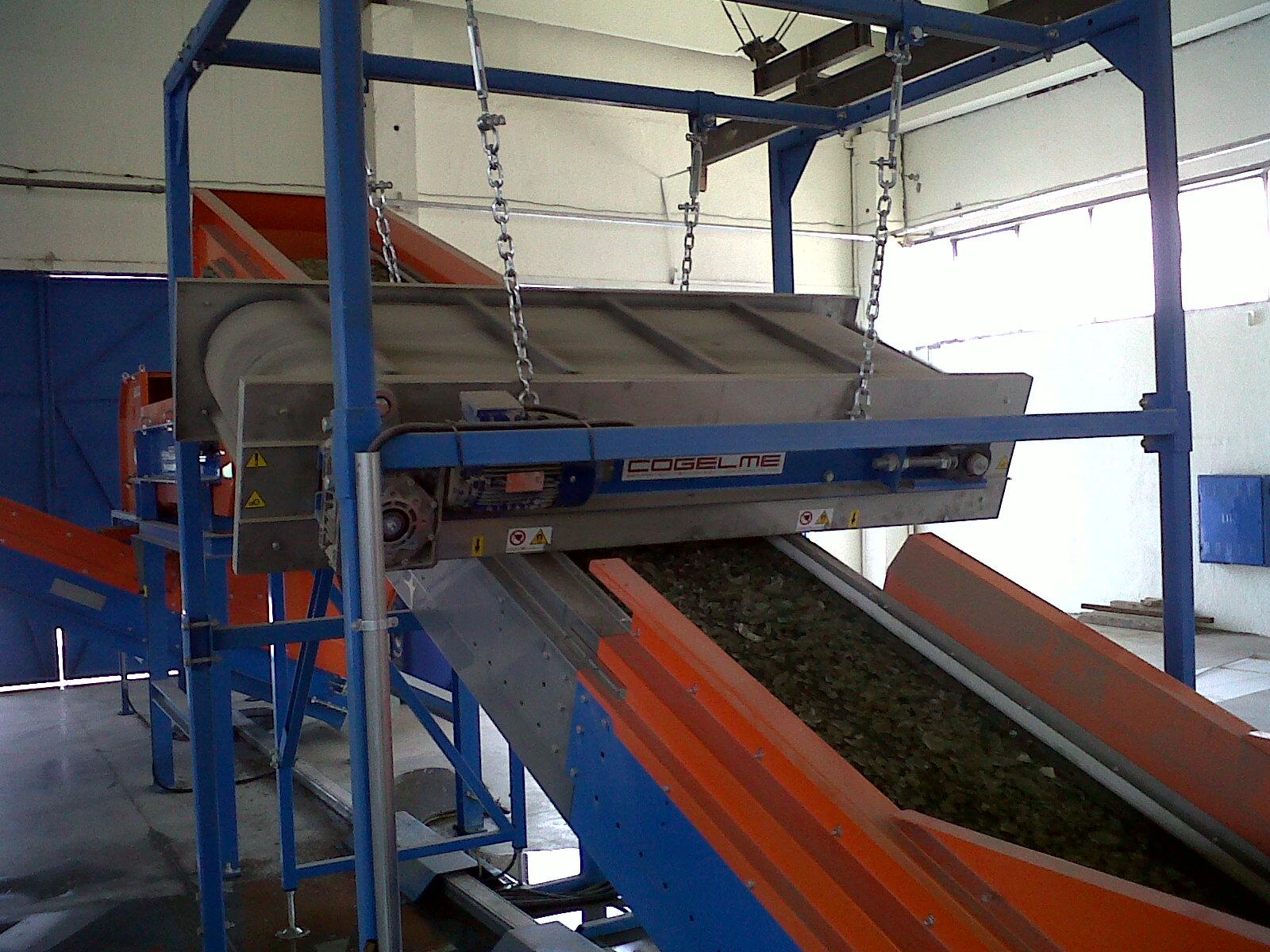 магнитные сепараторы конвейер