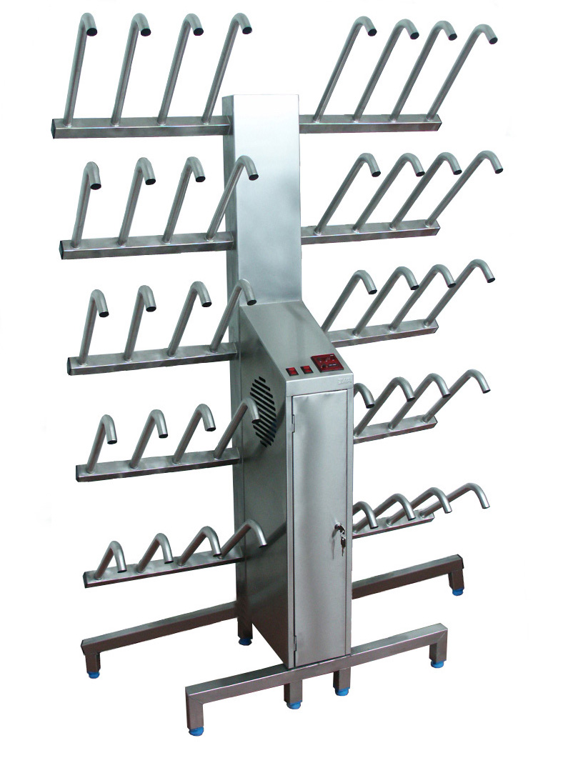 One side open shoes drying rack, mod. 5529: Elega
