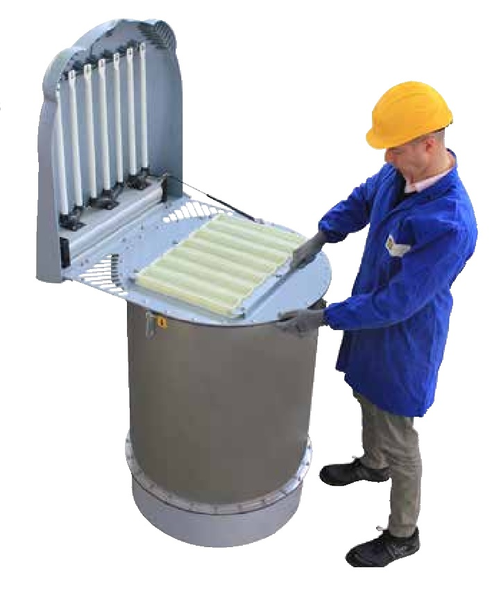 Filters for cement silos ventilation silotop elega for Cleaning concrete dust