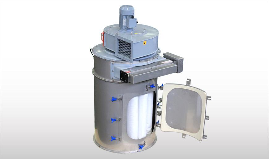 Dust Collector Wamflo Food To Food Production Elega