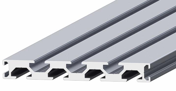 Surface coating aluminium profiles 15x120mm: Elega